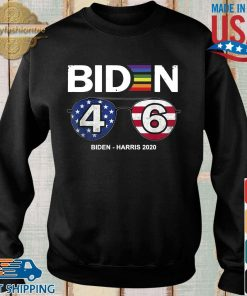 LGBT Joe Biden 46 Biden harris 2020 shirt