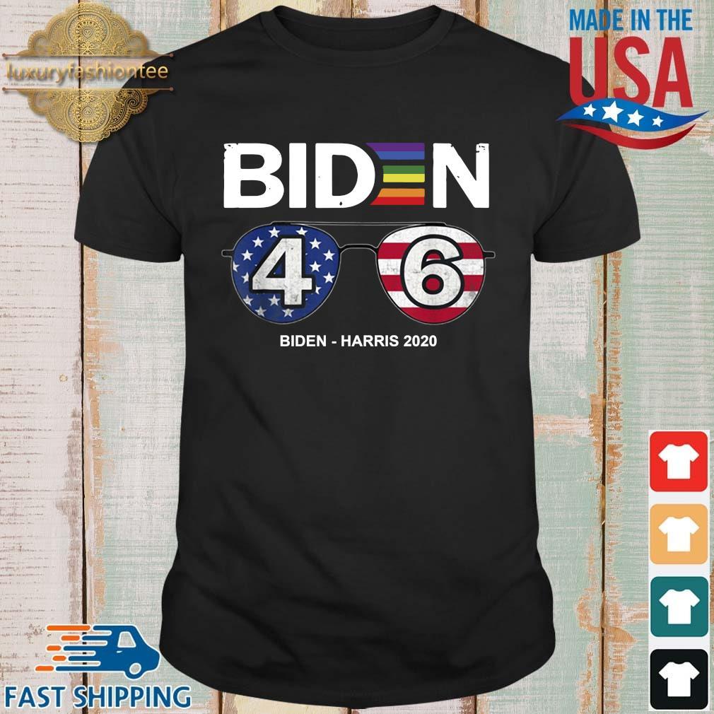 LGBT Joe Biden 46 Biden harris 2020 s shirt