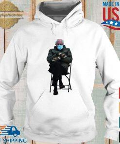 Bernie Sanders Sitting In Chair Inauguration Funny Meme Shirt Hoodie trang