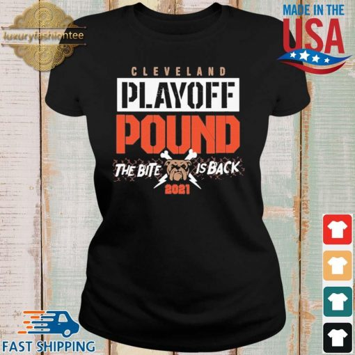 Cleveland playoff pound the bite dog is back 2021 s Ladies