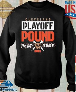 Cleveland playoff pound the bite dog is back 2021 shirt