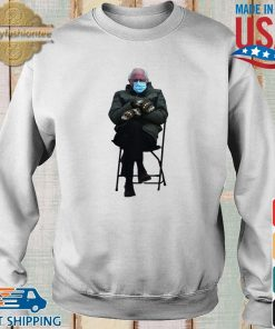 Funny Bernie Sanders Sitting In Chair Inauguration Meme Shirt