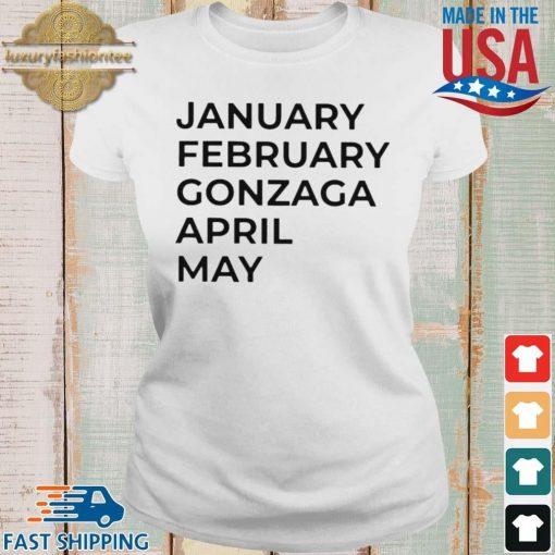 January february gonzaga april may s Ladies trang