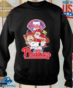 MLB Philadelphia Phillies Snoopy Charlie Brown Woodstock The Peanuts Movie Baseball Shirt