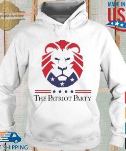 New Patriot Party Pride Shirt Hoodie trang