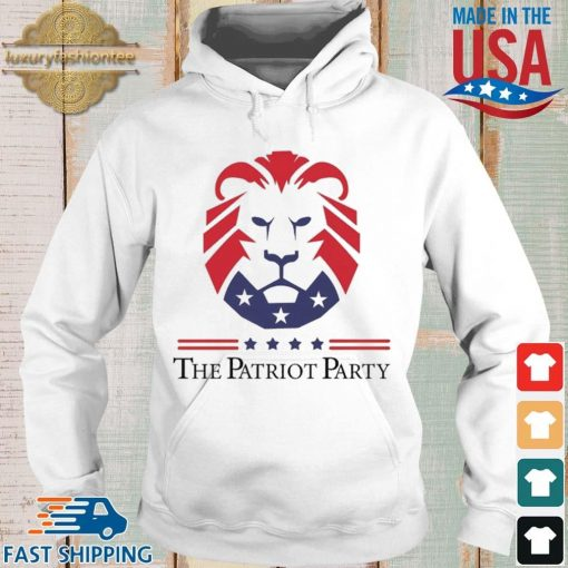 New Patriot Party Pride Shirt Hoodie trang