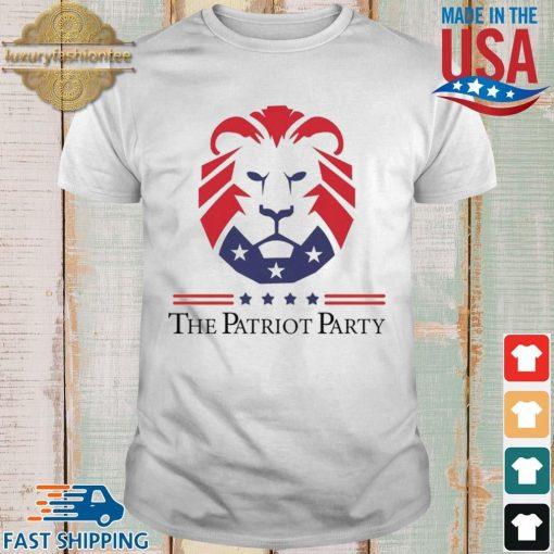 New Patriot Party Pride Shirt shirt trang