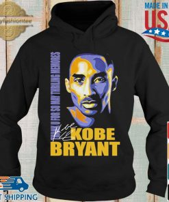Thank You So May Thrilling Memories With Kobe Bryant Signature Shirt Hoodie